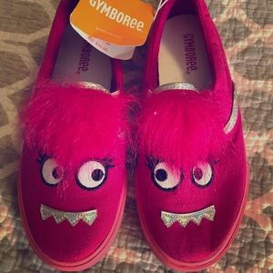 Cutest Pink Monster Shoes